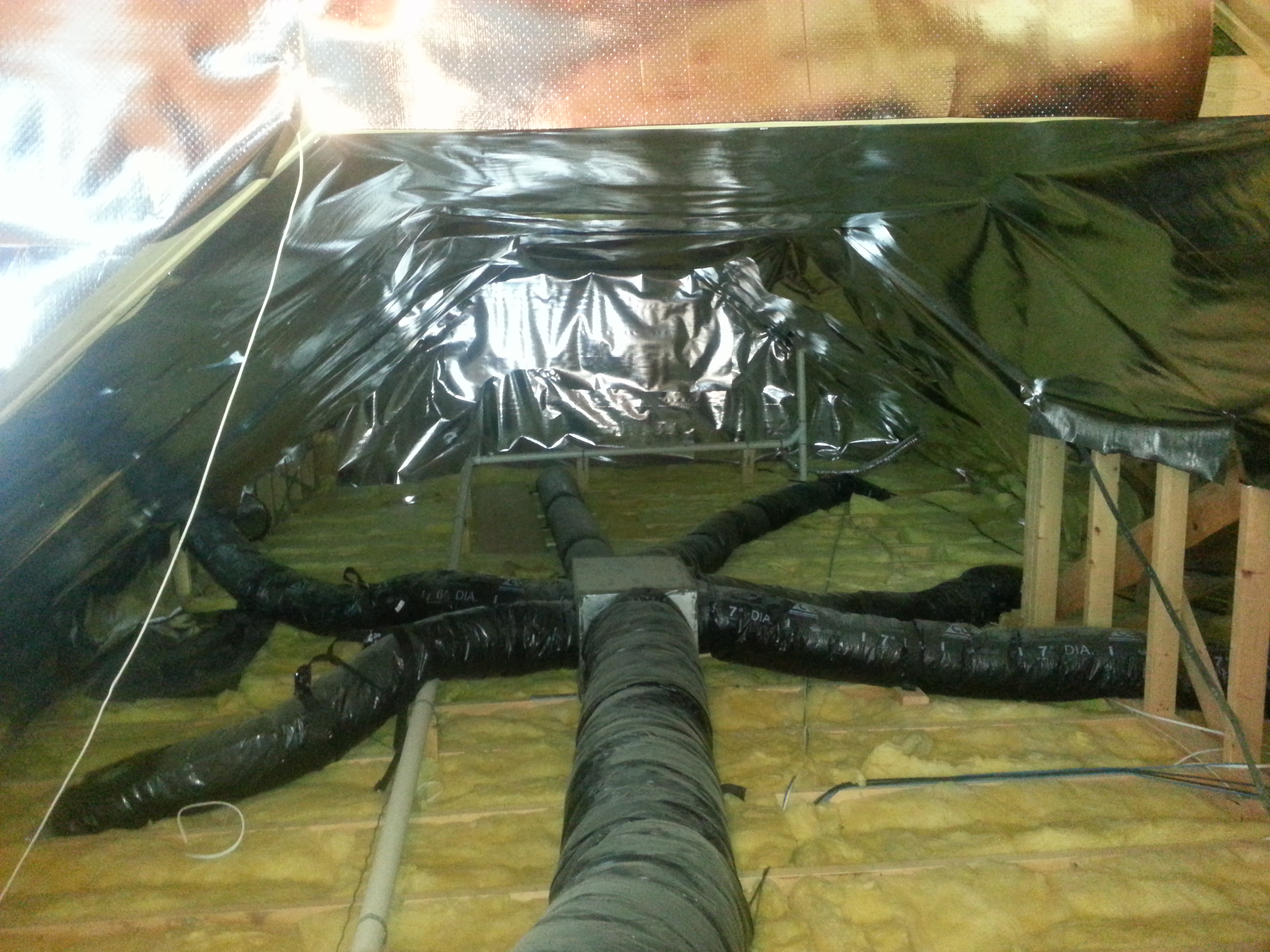 Radiant Barrier attic insulation. reflective attic insulation & radiant barrier | attic insulation | Reflective Insulation